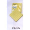 """3"""" x 3"""" Stick on Note (Yellow with Line)"""