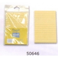 """6"""" x 4"""" Stick on Note (Yellow with line)"""