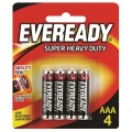 Battery Eveready Super Heavy Duty AAA - 4'