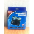 Deli Check & Correct Calculator W39231