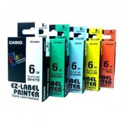 Casio EZ Label Printer Color Tape 6mm