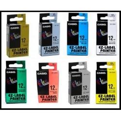 Casio EZ Label Printer Color Tape 12mm