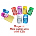 Magnetic Mini Calculator with Clip