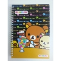 Rilakkuma Spiral Notebook A5 - 60pages