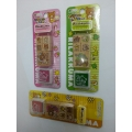 Rilakkuma Rubber Stamp Set