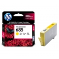 HP Ink Cartridge CZ124AA  (HP 685) - Yellow