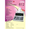 Olympia Heavy Duty Printing Calculator CPD 812