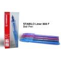 Stabilo 808 Ball Pen - Fine