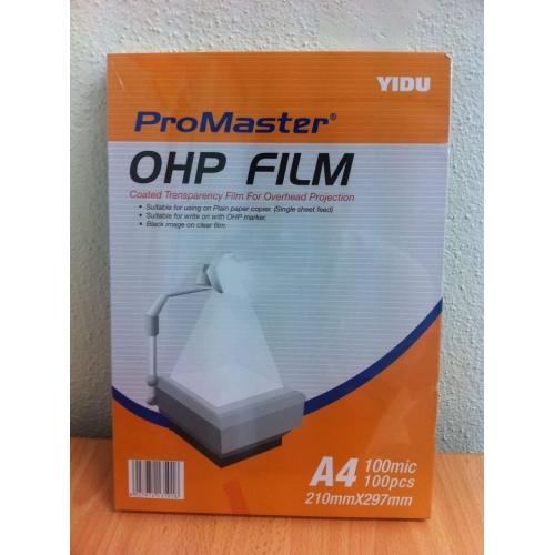 O H P Transparency Film A4