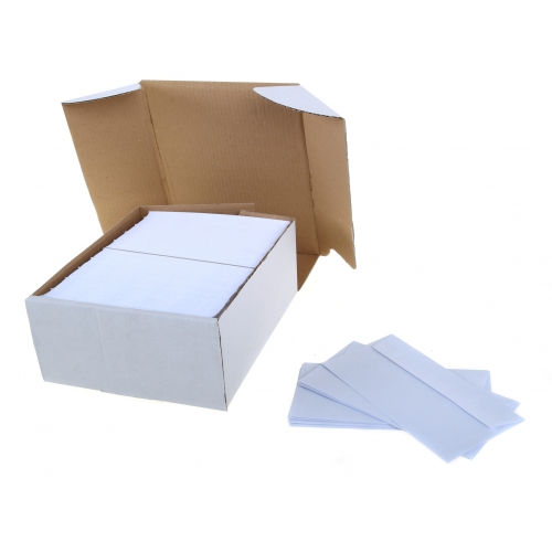 4 x 9 white envelope 80gsm
